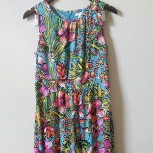 Talbots Women's Dress Floral size 8P NWT